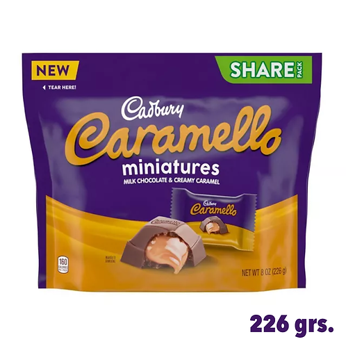 Cadbury Caramello Miniatures