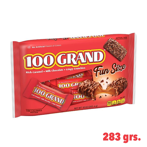 100 Grand Milk Chocolate Crispy Crunchies