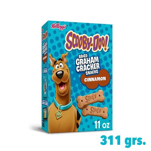 Scooby-Doo! Graham Crackers Snacks Cinnamon