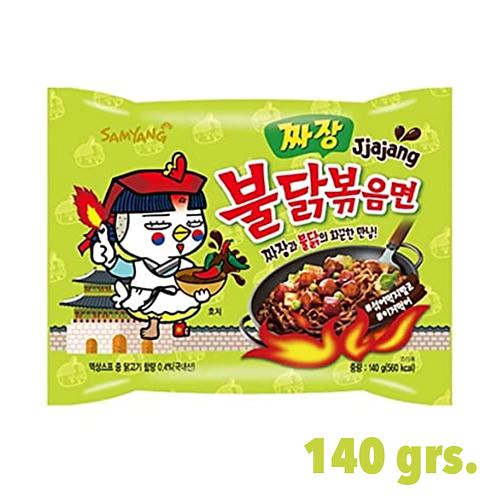 Buldak Ramen, Korean Famous Ramen, Jjajang Flavor.