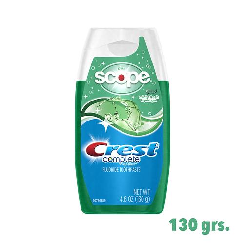 Crest Complete Plus Scope Gel Toothpaste