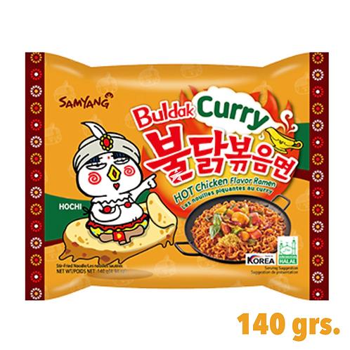 Buldak Ramen, Korean Famous Ramen, Curry Flavor.