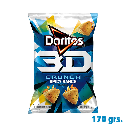 Doritos 3D Crunch Spicy Ranch