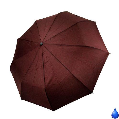 Duży lekki składany męski parasol Blue Drop A374UC