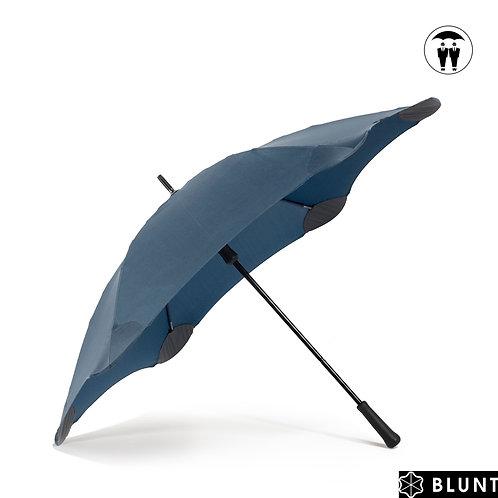 Bardzo duży mocny męski parasol XL Navy Blunt™