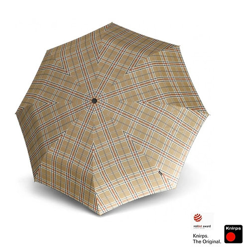 Parasol damski Check Beige T.200 Knirps Krata