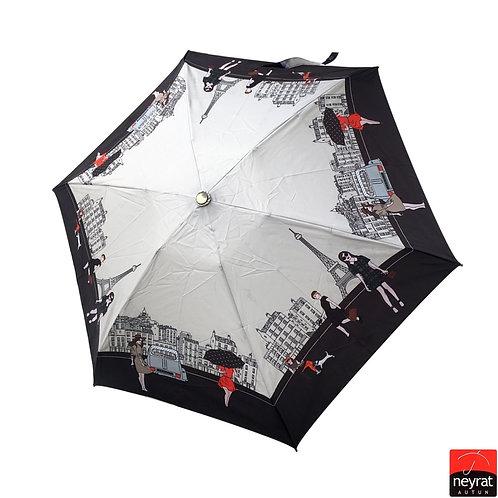 Mini parasolka Automat otwórz-zamknij Paryż Neyrat Autun 127P