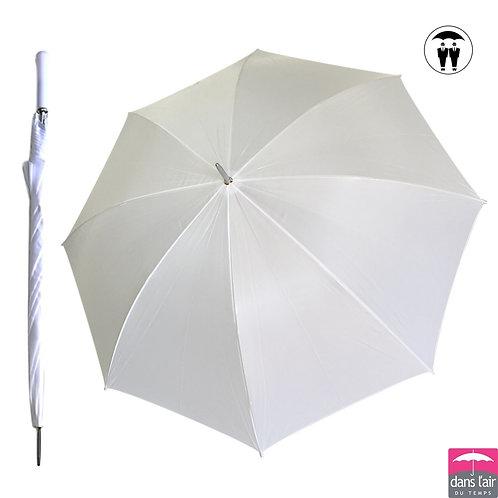 Duży biały ślubny parasol Wedding Golf DLDT 202Z
