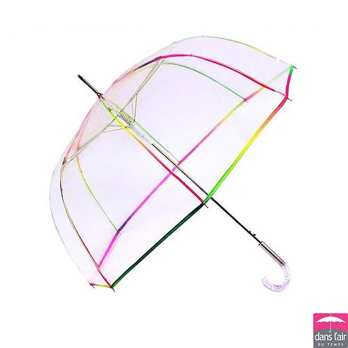 Parasol Przezroczysty Automat Lamówka kolorowa DLDT 802