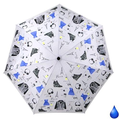 Mini lekki parasol do torebki Blue Drop A455DC