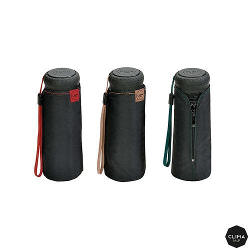 Kieszonkowy Micro czarny męski parasol Krótki 16 cm M&P 2700