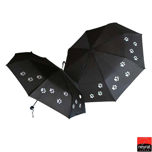 Mini parasol Duża czasza Łapki Neyrat Autun 5303