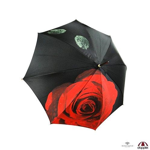 Piękny parasol Automat Noblesse Róże Doppler Manufaktur 12021