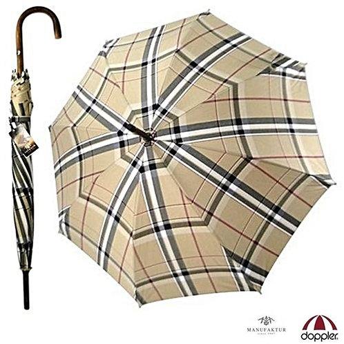Ekskluzywny parasol Krata Kastanie Doppler Manufaktur 23645