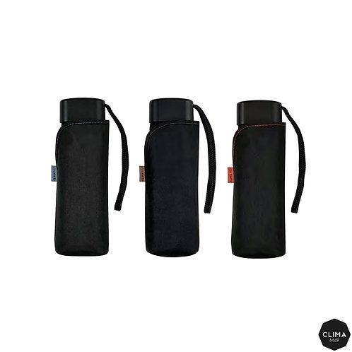 Lekki Micro czarny parasol do kieszeni M&P 2706