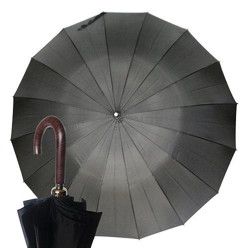 Sztormowy czarny parasol System przeciwwietrzny  Nuvem 224