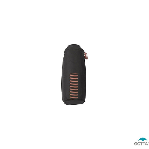 Czarny parasol kieszonkowy Micro Gotta 11103