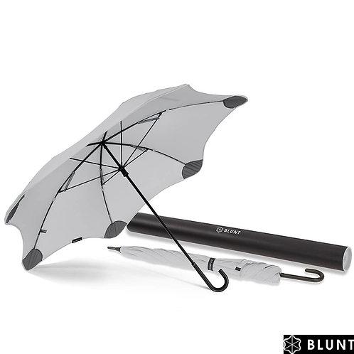 Długi lekki bardzo mocny parasol Lite 3 Gray Blunt™