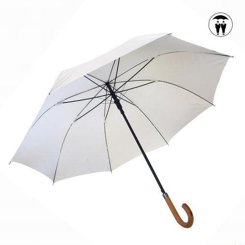 Ślubny biały parasol Automat XL Guidetti A612