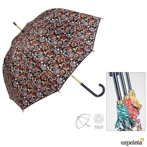 Piękny wzór Długi parasol Klosz Recykling Ezpeleta 10649