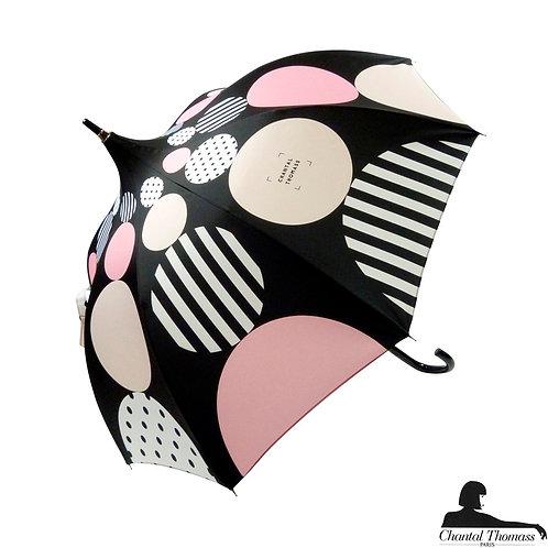 Damski parasol UVP Zmienna geometria Pudrowy Chantal Thomass