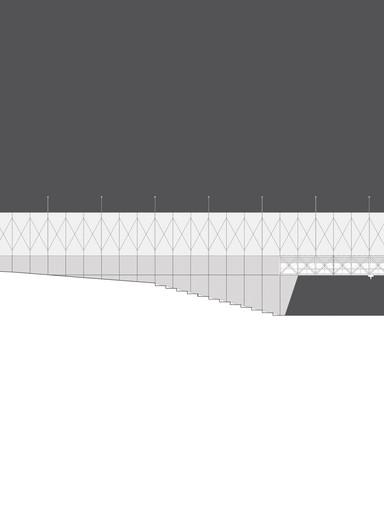 Alçado_Pavilhão_decportivo_Arquitetura