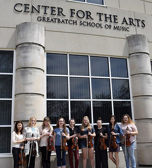 Assistant Professor of Violin and Viola   Houghton College