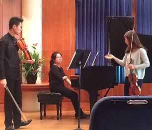 Secondary Applied Violin Instructor   University of Rochester-Eastman School of Music