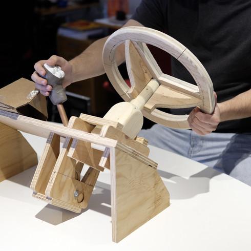Maquette ergonomique