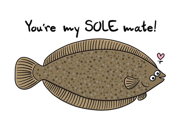 Sole Mate Card