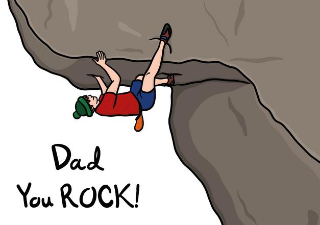 Dad you Rock!