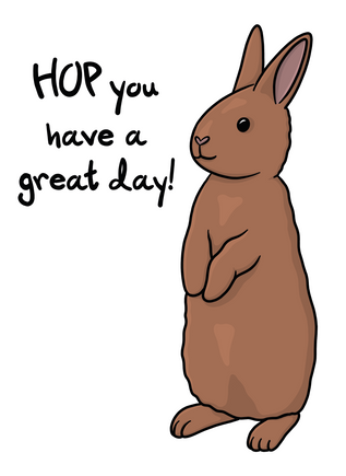 Hop you have a great day!