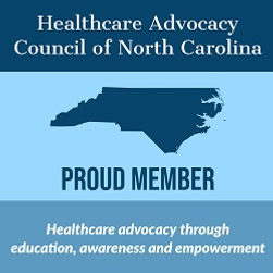 Badge for Healthcare Advocacy NC  250x25