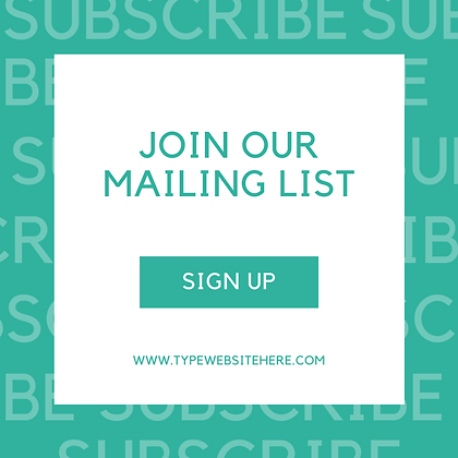Join Our Mailing List Bundle Pack!