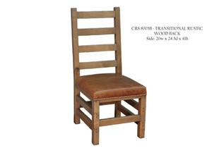 CRS 8005B Transtional Rustic Wood Back