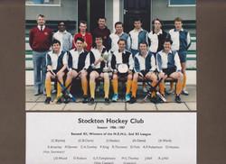 1986-87 2nd X! League Winners 001