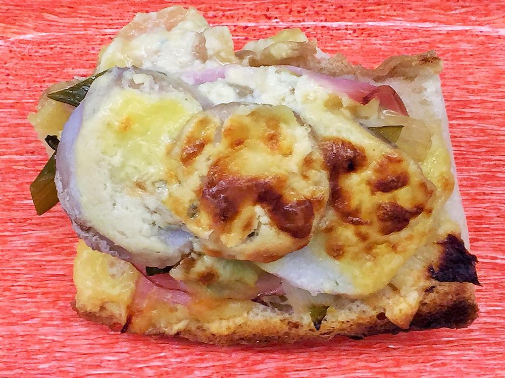 里芋と下仁田ねぎの白味噌豆乳グラタン