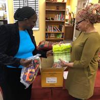 Sending condoms to our friends in Kenya.