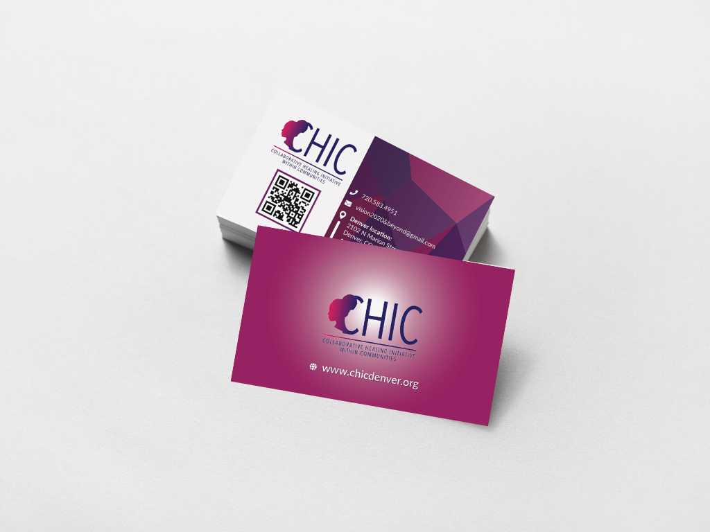 CHIC Business Card Design