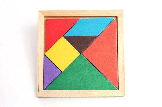 Komplettes Puzzle