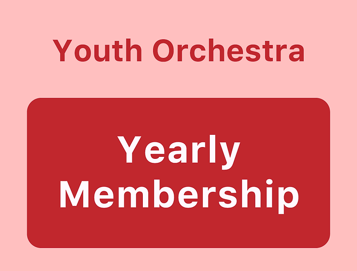 Youth Orchestra - Yearly Membership