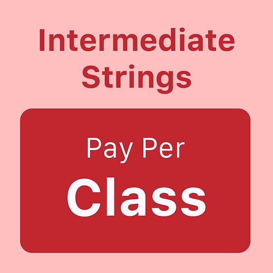 Intermediate Strings - Pay per Class