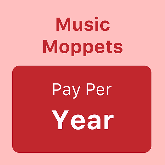 Music Moppets - Pay per Year