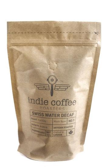 Indie Coffee Swiss Water Decaf