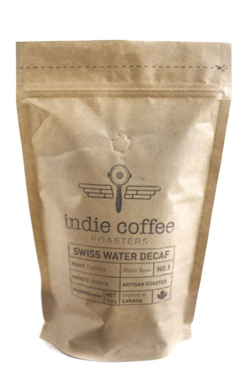 Indie Coffee Swiss Water Decaf