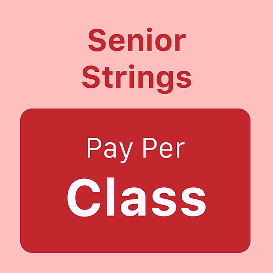 Senior Strings - Pay per Class