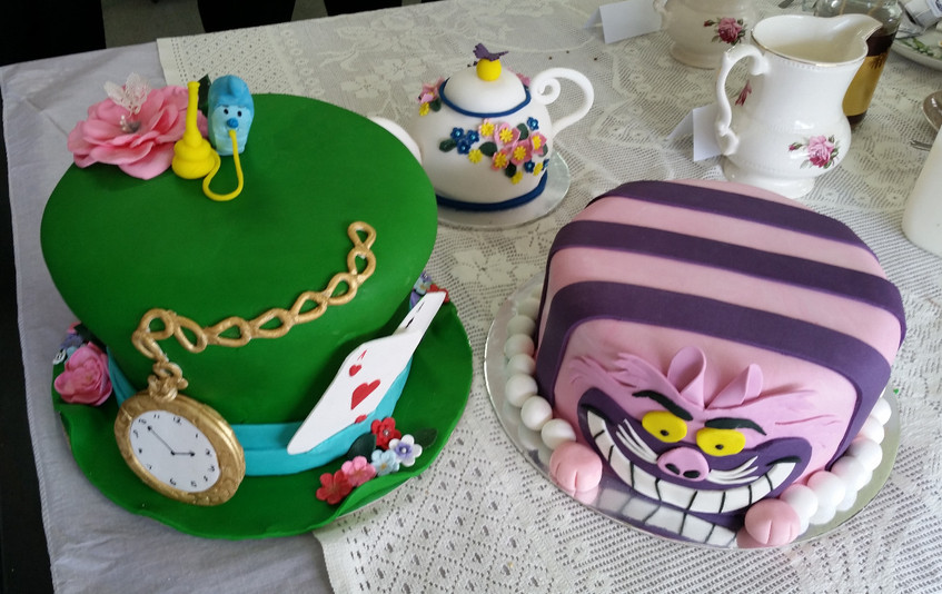 Jenny's wonderful themed cakes