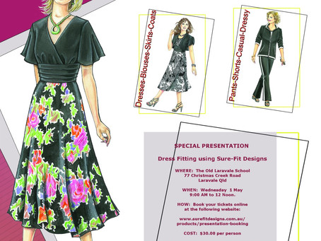Calling All Dressmakers Who Struggle To Fit Patterns