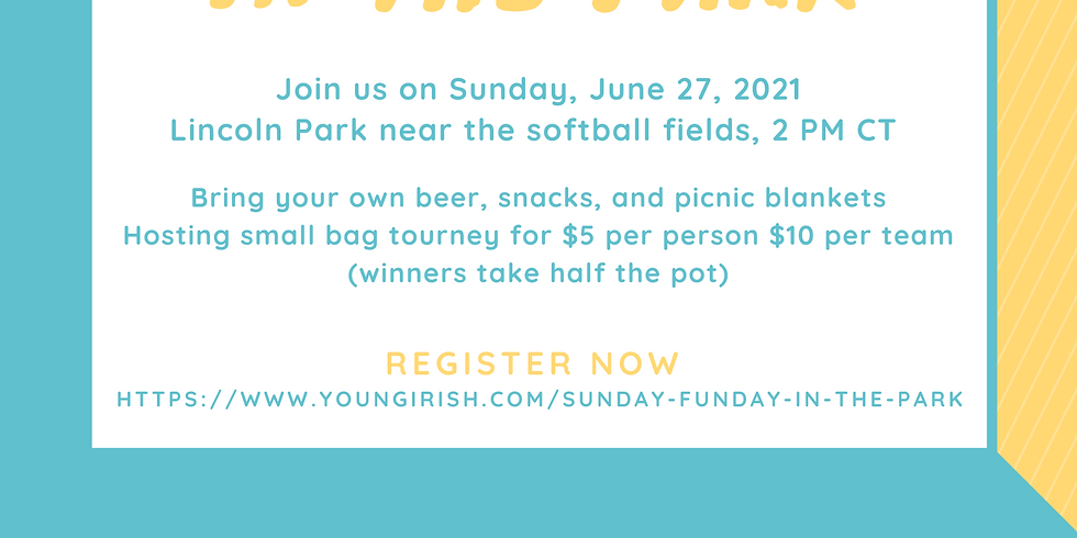 Young Irish Fellowship Club's Sunday Funday in the Park