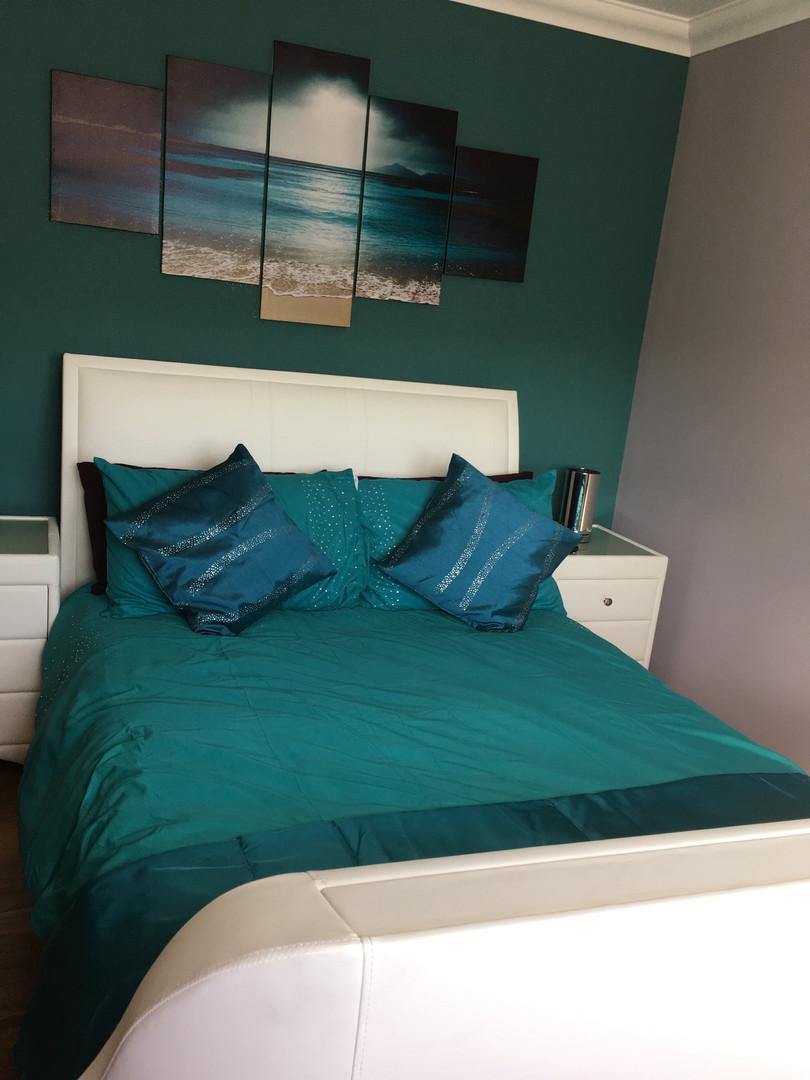 Bedroom 2 - Double with TV & Sky Q